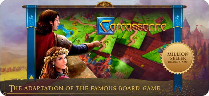 Carcassonne board game for iPhone and iPad