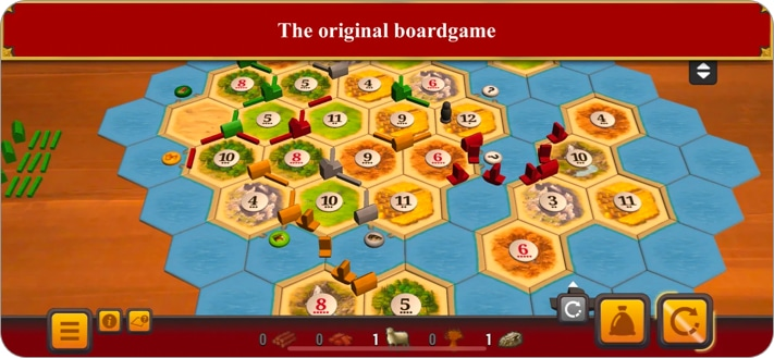 Catan Universe board game for iPhone and iPad