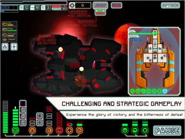 FTL strategy game for iPad