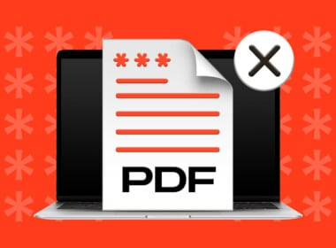 How to remove password protection from PDF files on Mac