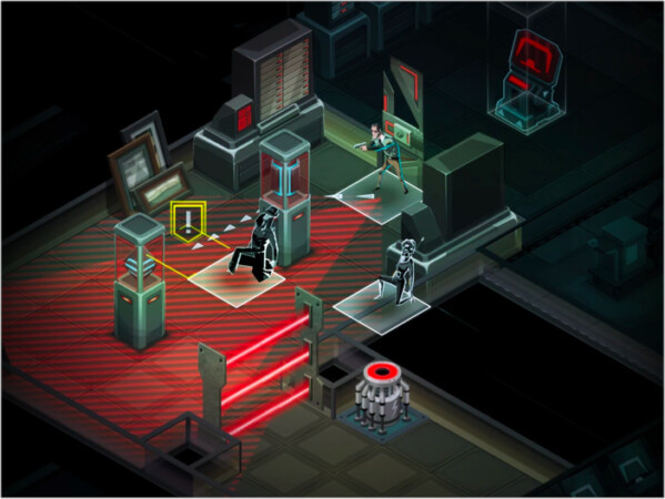 Invisible, Inc. strategy game iPad