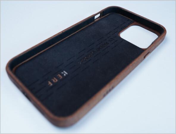 KERF iPhone 13 series case inner lining