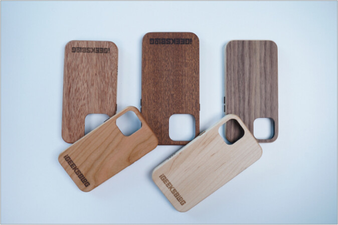 KERF wooden iPhone 13 cases