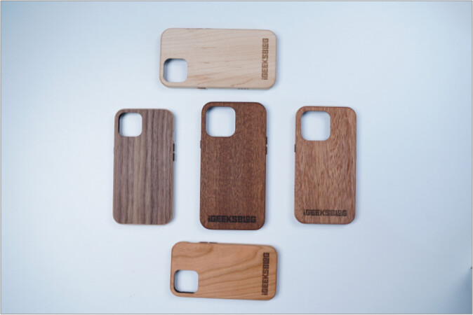 KERF wooden iPhone 13 series cases