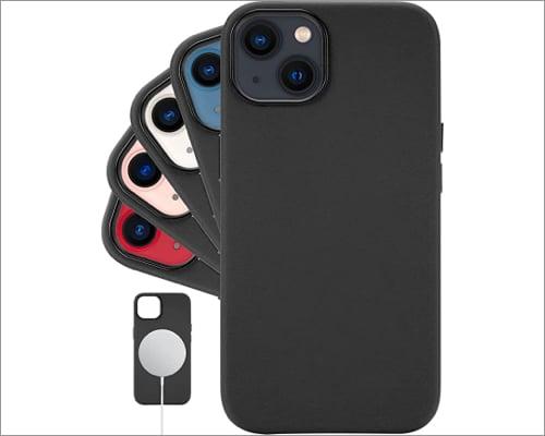 Lonli klassische Lederhülle für iPhone 13 Pro Max