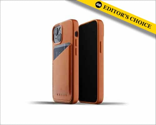 MUJJO leather case for iPhone 13 mini