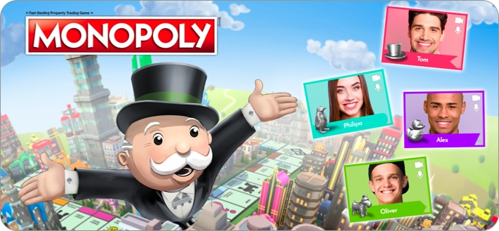 Monopoly Board Game for iPhone and iPad