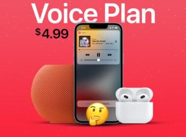 New Apple Music Voice Plan