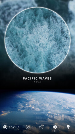 Pacific Waves of Hawaii scene in Portal app for iPhone