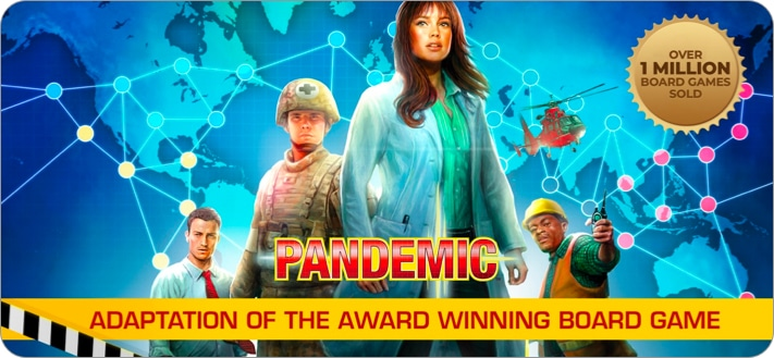 Pandemic board game for iPhone and iPad