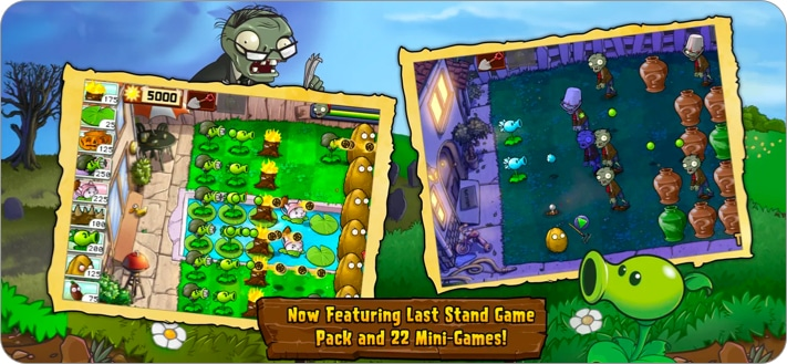 Plants vs. Zombies™ strategy game for iPhone and iPad