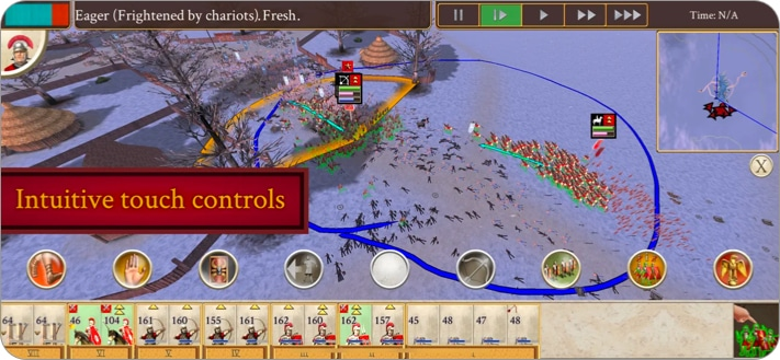 ROME strategy game for iPhone and iPad