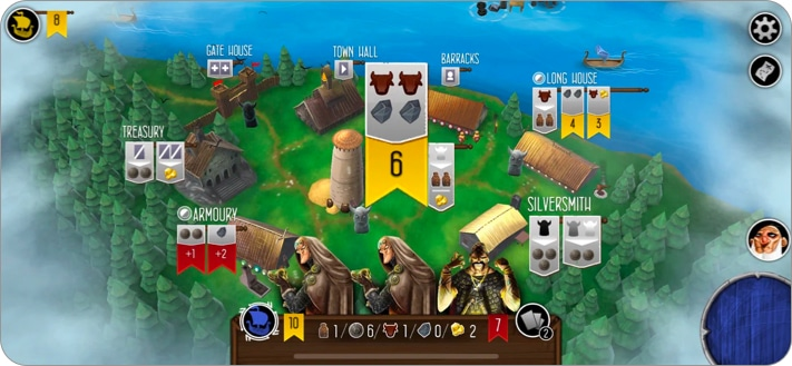 Raiders of the North Sea strategy games for iPhone and iPad