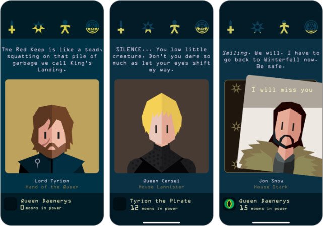 Reigns- Game of Thrones strategy game for iPhone and iPad