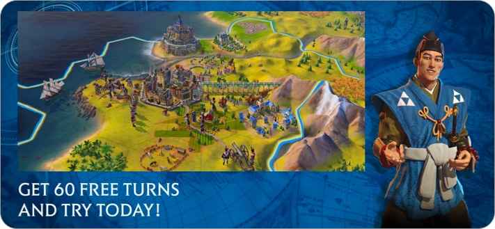 Sid Meier's Civilization® VI strategy game for iPhone and iPad