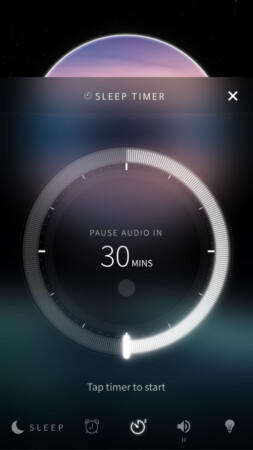 Sleep mode in Portal app for iPhone and iPad