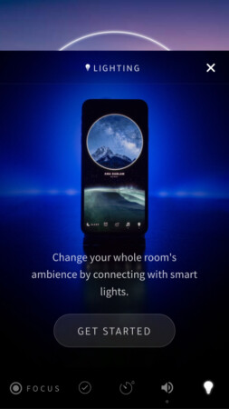 Smart lighting fetaure in Portal iOS app