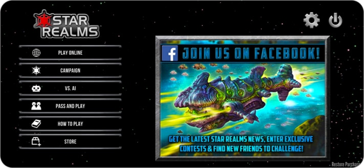 Star Realms board game for iPhone and iPad