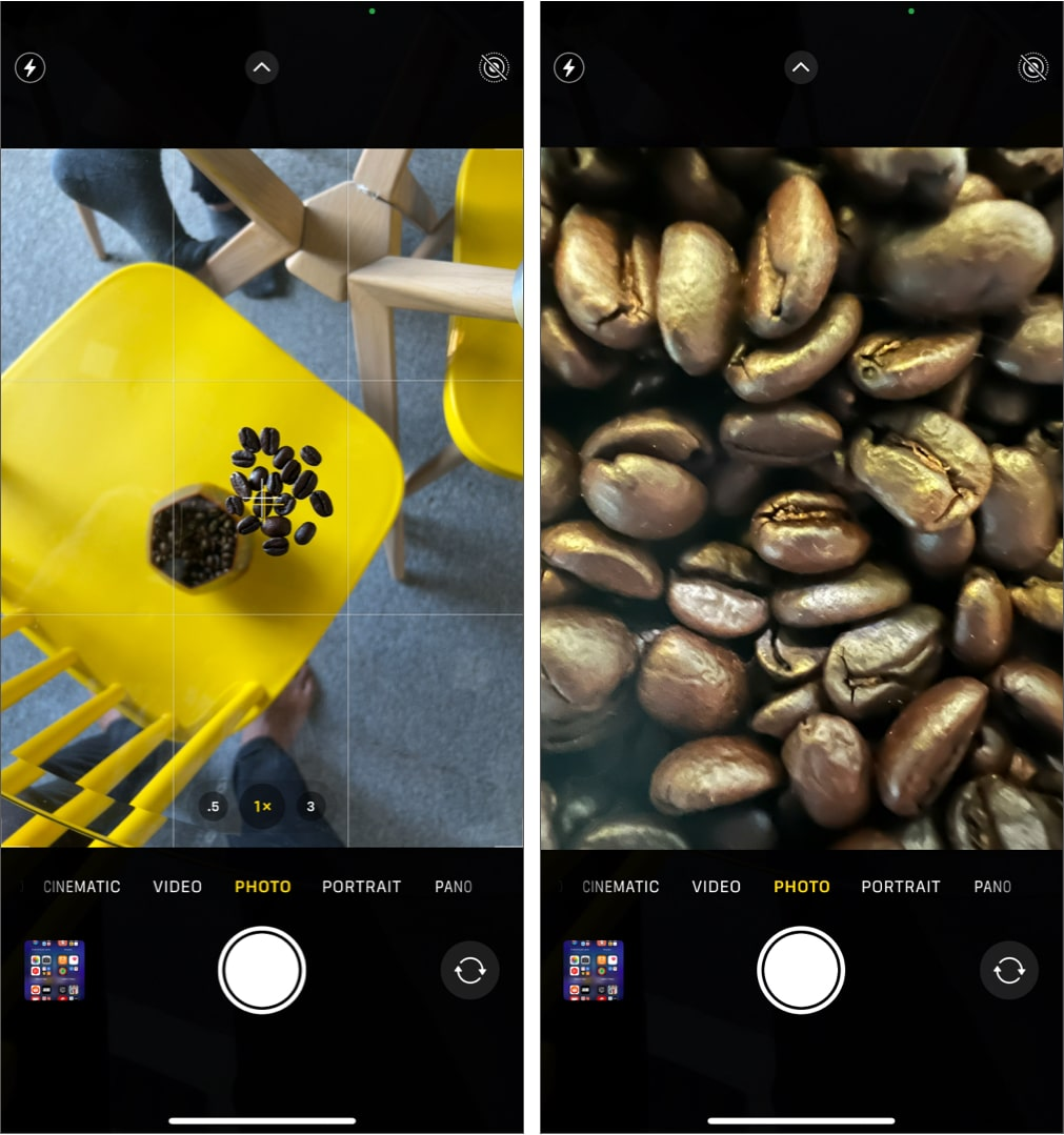 Take macro photos and videos on iPhone 13 Pro