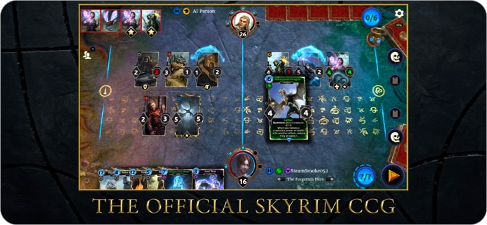 The Elder Scrolls strategy game for iPhone and iPad