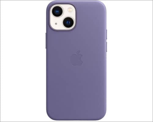 apple iphone 13 mini leather case