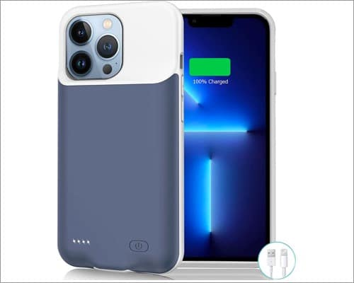 jerss iphone 13 pro max battery case