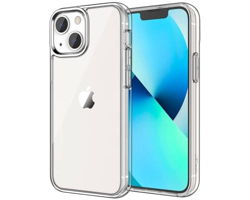 JETech clear case budgeted iPhone 13 mini bumper case