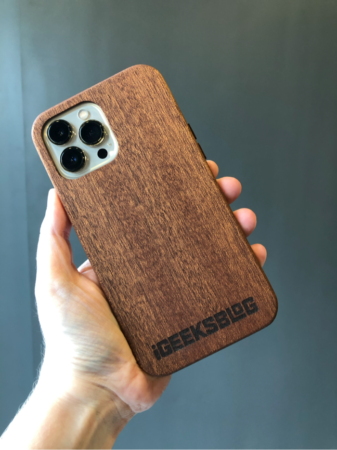 kerf iphone 13 pro max wood case