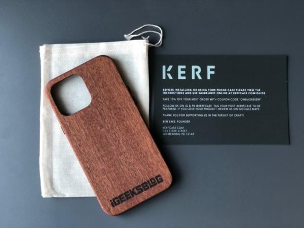 kerf wooden cases packaging