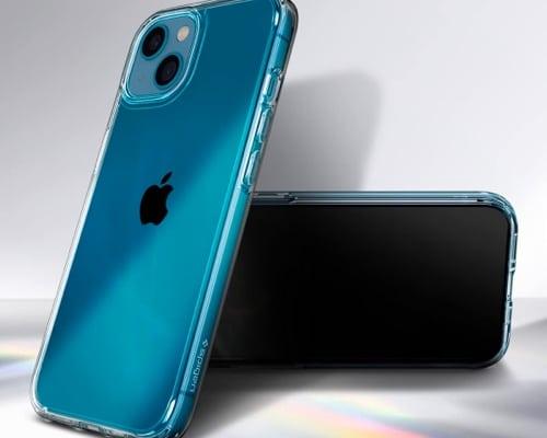 Spigen ultra hybrid clear bumper case for iPhone 13 mini