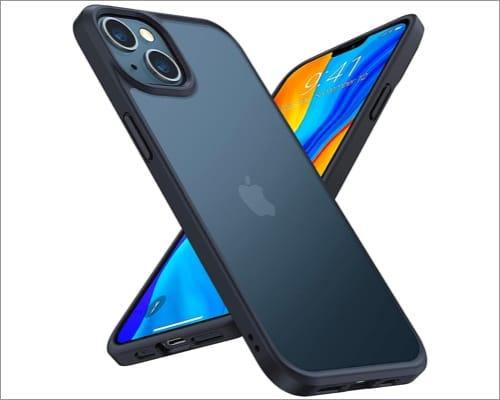 TORRAS Shockproof bumper case for iPhone 13 mini