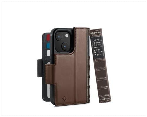 twelve south iphone 13 mini leather case